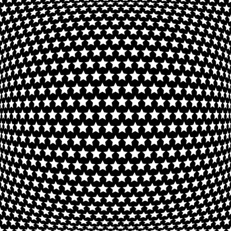 Stars pattern. Abstract textured background. Vector art. Illusztráció