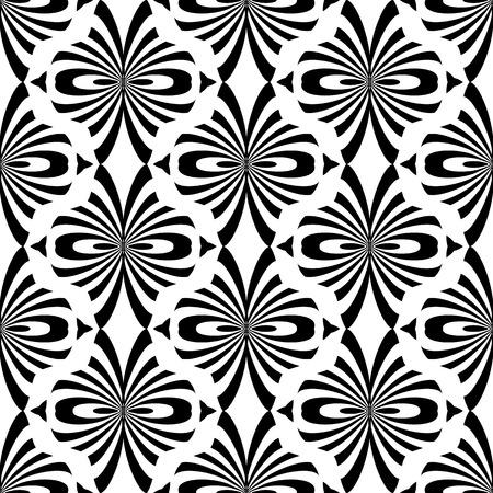black fabric: Seamless pattern. Vector art.