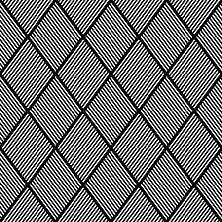 latticed: Seamless texture. Pattern of striped diamonds. Vector illustration.