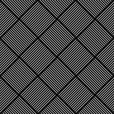 checked: Seamless diagonal checked texture. Pattern of striped checks. Vector illustration.