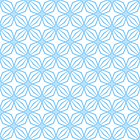 fabric pattern: Seamless geometric latticed texture. Vector art. Illustration