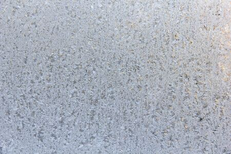 frosted glass: Frosted glass texture. Winter background.