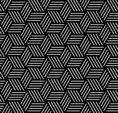 op art: Seamless op art pattern. Geometric texture. Vector art.