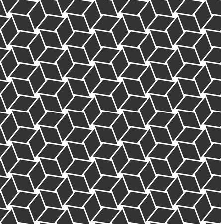 hexagram: Seamless geometric op art texture. Vector art. Illustration
