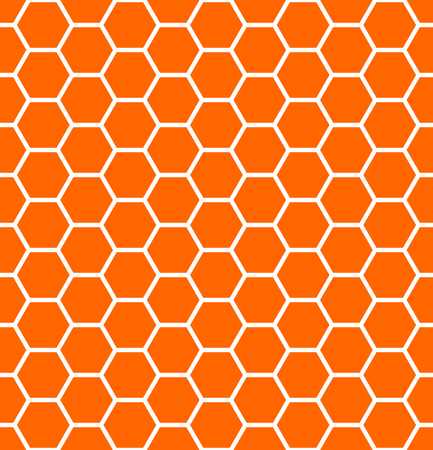 cancellated: Seamless hexagons texture. Honeycomb pattern.  Illustration