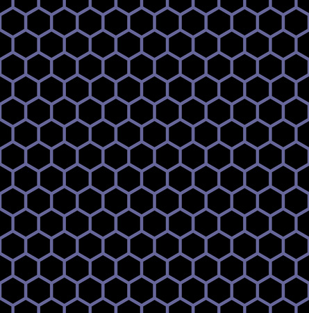 tessellated: Seamless hexagons texture. Honeycomb latticed pattern.