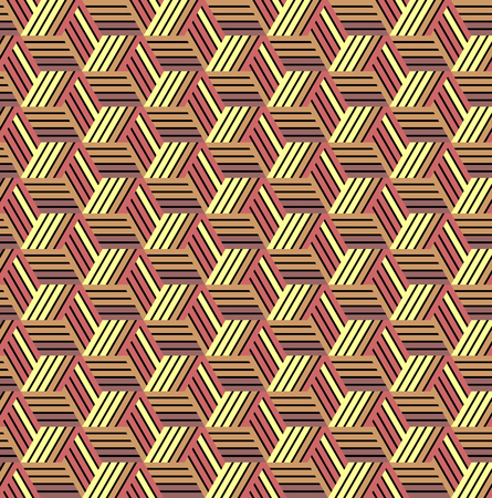 hexagonal pattern: Seamless geometric pattern. Vector art.