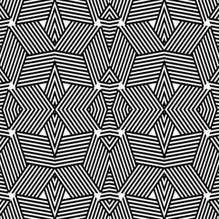 fabric art: Seamless geometric pattern. Vector art.
