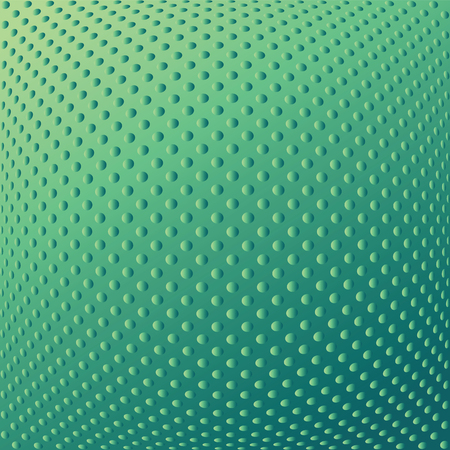 convex: Abstract textured convex background. Dotted pattern. Vector art.