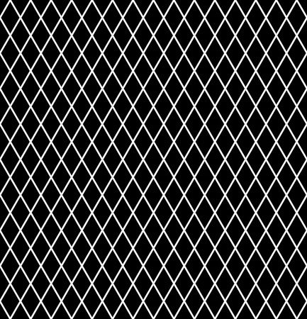 iteration: Diamonds pattern. Seamless latticed texture.