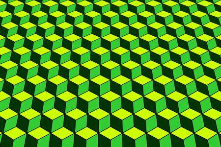 arte optico: Fondo geométrico abstracto. Patrón con efecto óptico. Arte del vector. Vectores