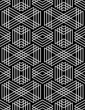 diamante negro: Modelo geométrico inconsútil. Arte del vector. Vectores