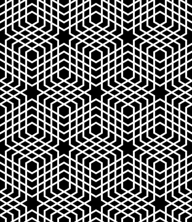 op: Seamless op art pattern. Vector art.