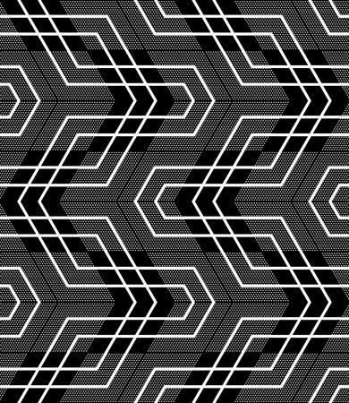 シームレスな幾何学的なパターン。ベクター アートです。