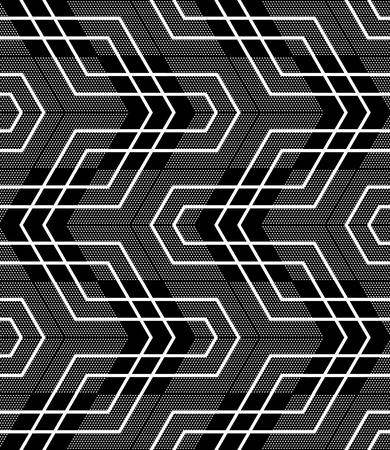 pattern geometric: Seamless geometric pattern. Vector art.
