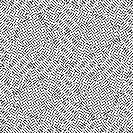 interweaving: Seamless triangles and polygons pattern. Geometric textured background.