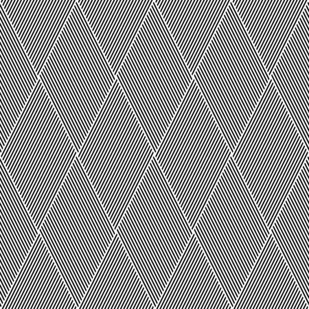 interweaving: Striped diamonds pattern. Seamless lines texture. Illustration