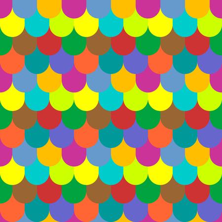escamas de peces: mosaico multicolor textura perfecta. Las escalas de pescados patrón. art.