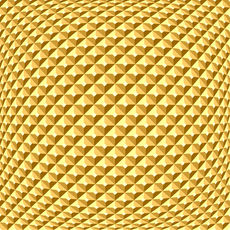 checked: Golden textured background. Checked relief pattern.