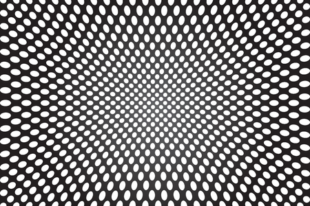 illusions: Abstract concave background.