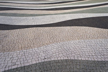 road surface: Modern pavement texture. Abstract textured background.