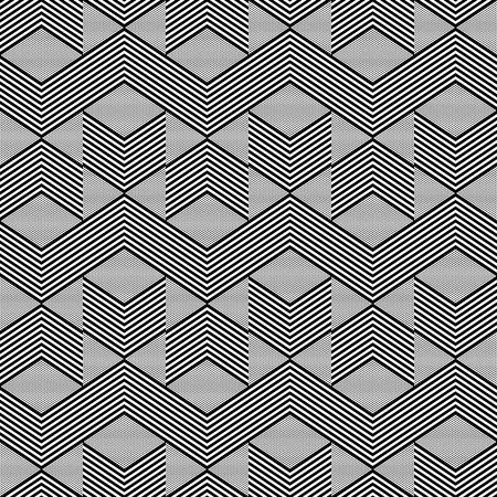 zig zag: Seamless geometric zig zag pattern Illustration