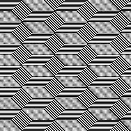 parallelogram: Seamless geometric pattern Illustration