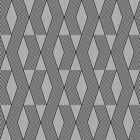 zig zag: Seamless geometric zig zag and diamond shapes pattern.