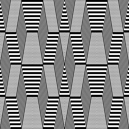 iteration: Seamless geometric pattern.