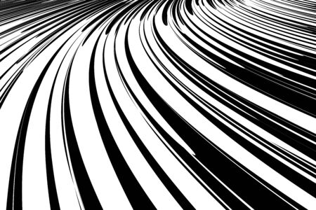 fluent: Abstract background. Effect of movement, speed and perspective. Illustration