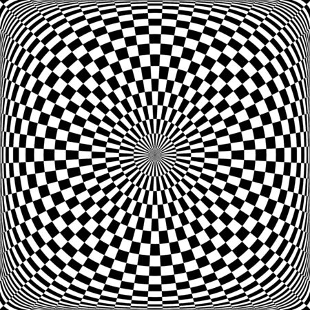 Abstract rotation pattern Illustration
