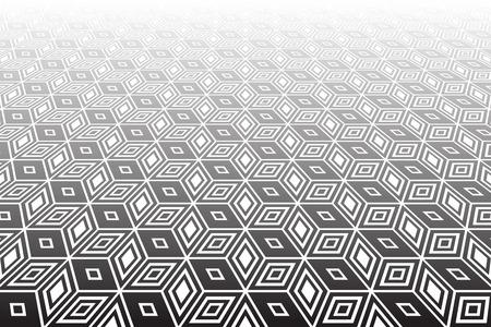op art: Abstract  op art geometric background.