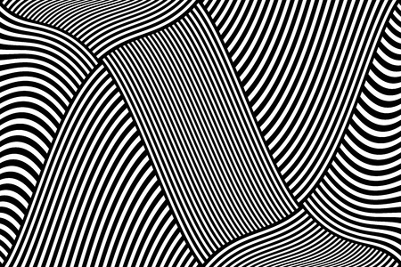 Striped lines design. Abstract background. Vector art.