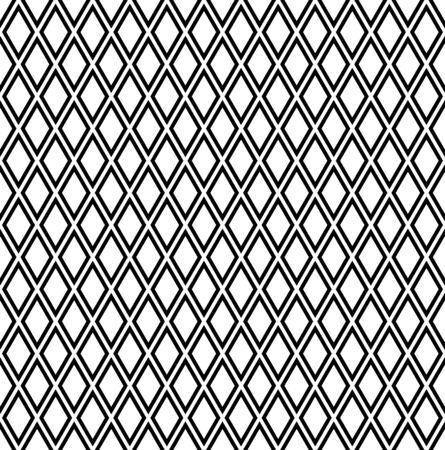 latticed: Seamless diamonds pattern. Geometric latticed texture. Vector art.