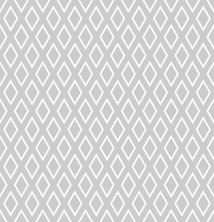 gray netting: Seamless diamonds pattern. Geometric texture. Vector art.