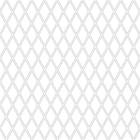 Seamless diamonds pattern. Geometric texture. Vector art.