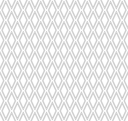 iteration: Seamless diamonds pattern. Geometric texture art. Illustration