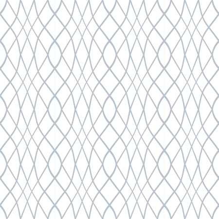 Seamless pattern. Wavy lines latticed texture. Vector art. 向量圖像