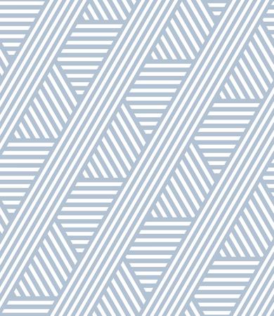Sin fisuras patrón de líneas de rayas. textura geométrica. Vector el arte.