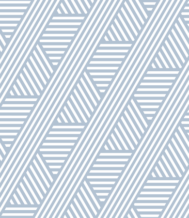Seamless striped lines pattern. Geometric texture. Vector art.