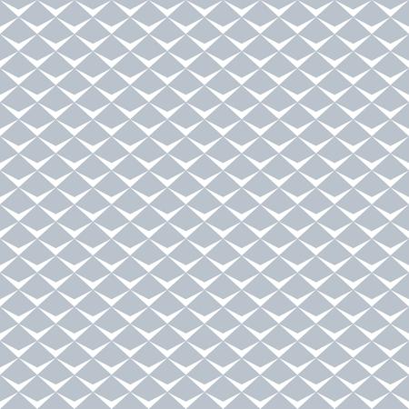 Fish scale pattern. Seamless geometric texture. Vector art.