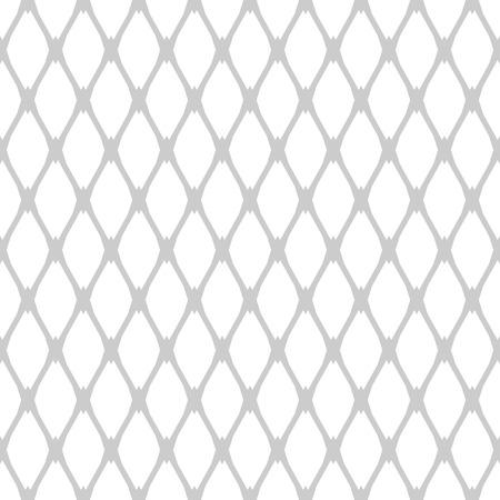 Seamless latticed pattern. Geometric texture. Vector art.
