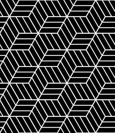 Seamless op art pattern. 3D illusion. Geometric texture. Vector illustration. Illustration