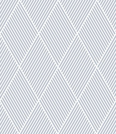 Seamless diamonds pattern. Geometric lines texture. Vector art.