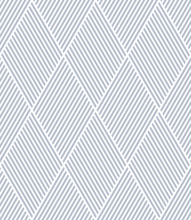 Seamless diamonds pattern. Geometric lines texture. Vector art.