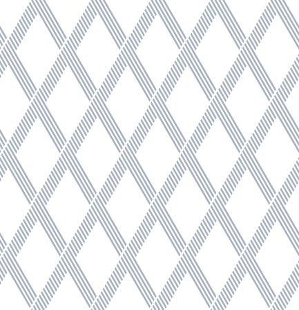 Seamless diamonds geometric pattern. Latticed texture. Illustration