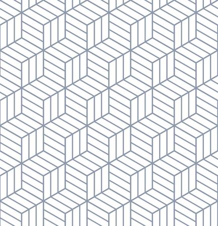 latticed: Seamless op art pattern. 3D illusion. Geometric texture. Vector illustration. Illustration