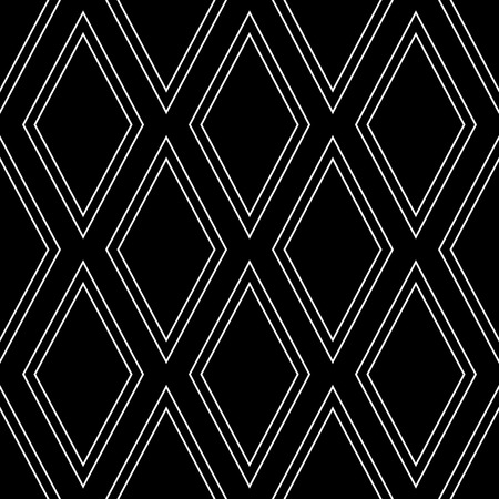 latticed: Seamless diamonds pattern. Geometric texture. Vector art.