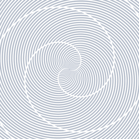 blue lines: Lines rotation pattern. Abstract textured background. Vector art.