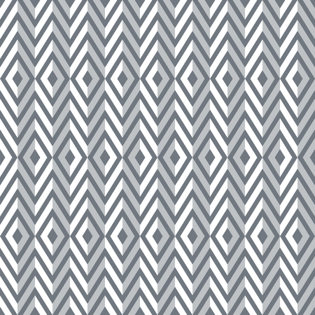 원활한 3d 다이아몬드와 지그재그 패턴입니다. 형상 텍스처입니다. 벡터 아트입니다.